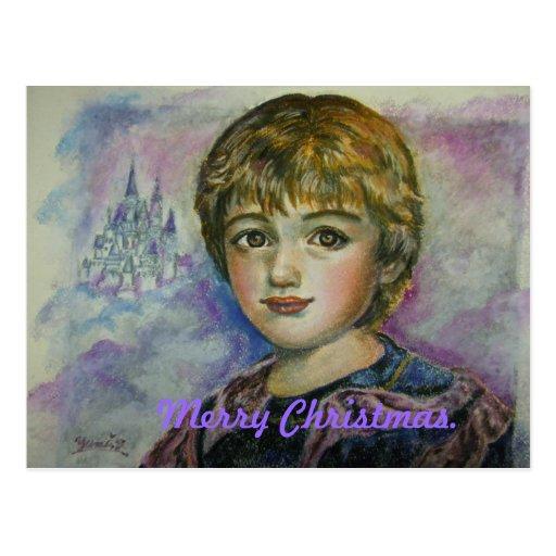 Yumi Sugai. Feliz Natal. Gabe. Cartoes Postais