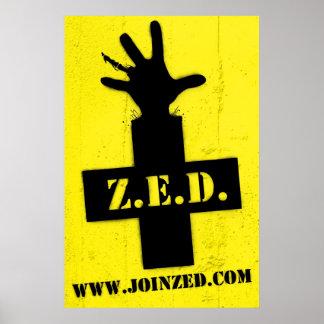 Z.E.D.: Zona do cofre forte do zombi Pôster