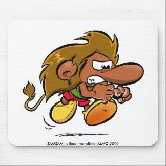 ZAMZAM tapete de ratos (indomável) Mouse Pads
