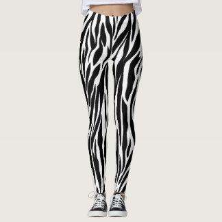 Zebra - calças justas leggings