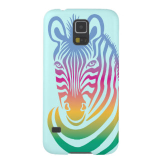 Zebra multicolorido capinhas galaxy s5