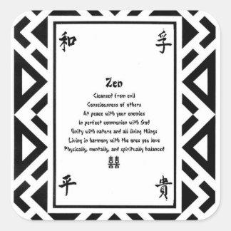 Zen Adesivo Quadrado
