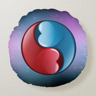 Zen do amor almofada redonda