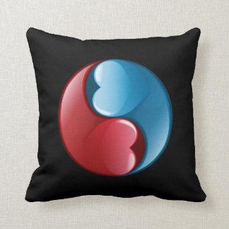 Zen do amor travesseiro de decoração