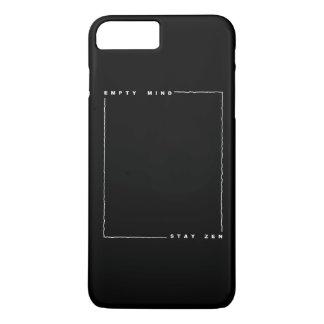 Zen vazio da estada da mente capa iPhone 7 plus
