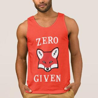 Zero (Fox) dado Regatas
