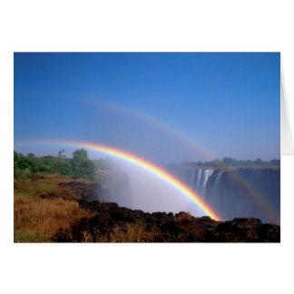 Zimbabwe, parque nacional de Cataratas Vitória. Cartão