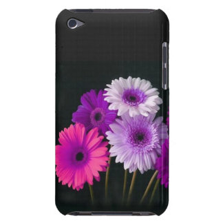 Zinnias bonitos na capa do ipod touch preta capa para iPod touch