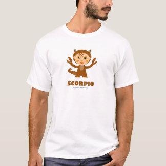 Zodíaco da Escorpião para miúdos Tshirt