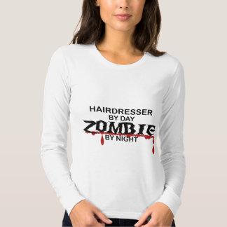 Zombi do cabeleireiro camisetas