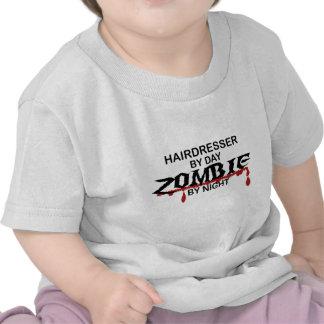 Zombi do cabeleireiro tshirts