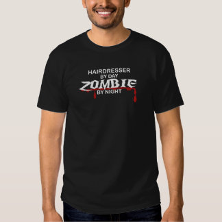 Zombi do cabeleireiro t-shirts