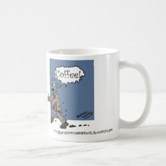 Zombie wants Coffee Caneca