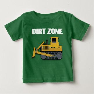 Zona da sujeira (escavadora) -  fino do t-shirt