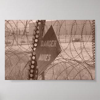Zona de perigo pôster