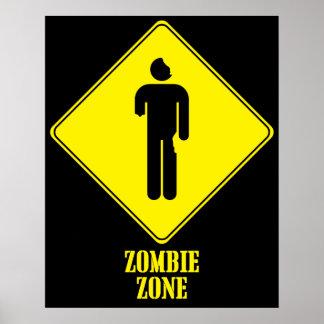 Zona do zombi pôster
