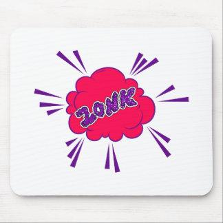 Zonk banda desenhada mouse pad