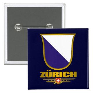 Zurique Bóton Quadrado 5.08cm