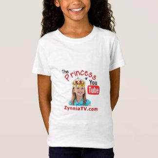 Zynnia a princesa de YouTube Camiseta